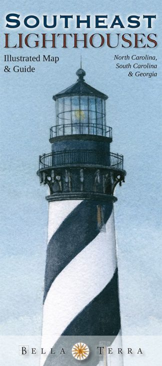 Florida Lighthouses Map.Illustrated Map Guide To Florida Lighthouses Lighthouse Digest