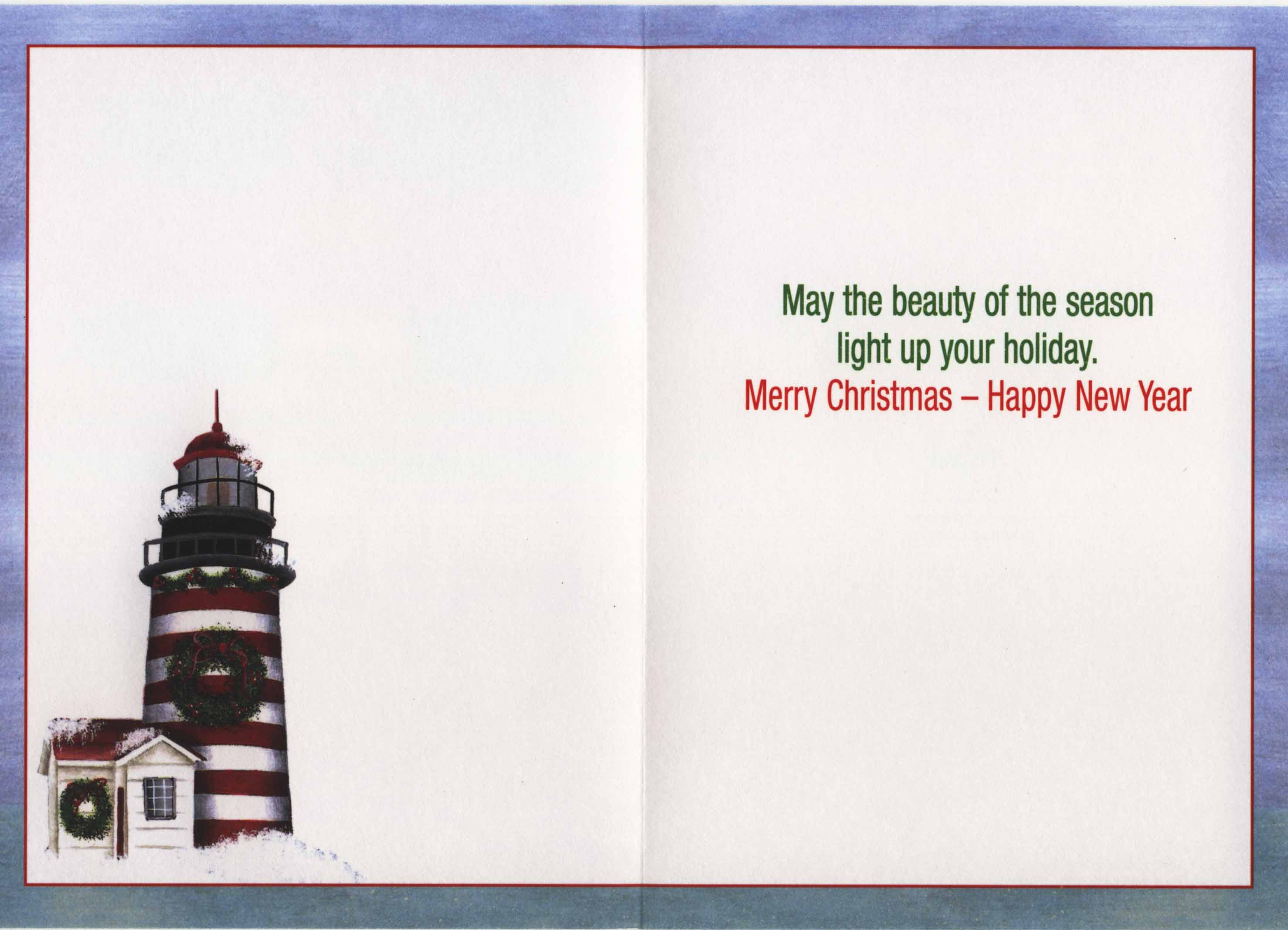 West Quoddy Lighthouse Christmas Cards – Lighthouse Digest