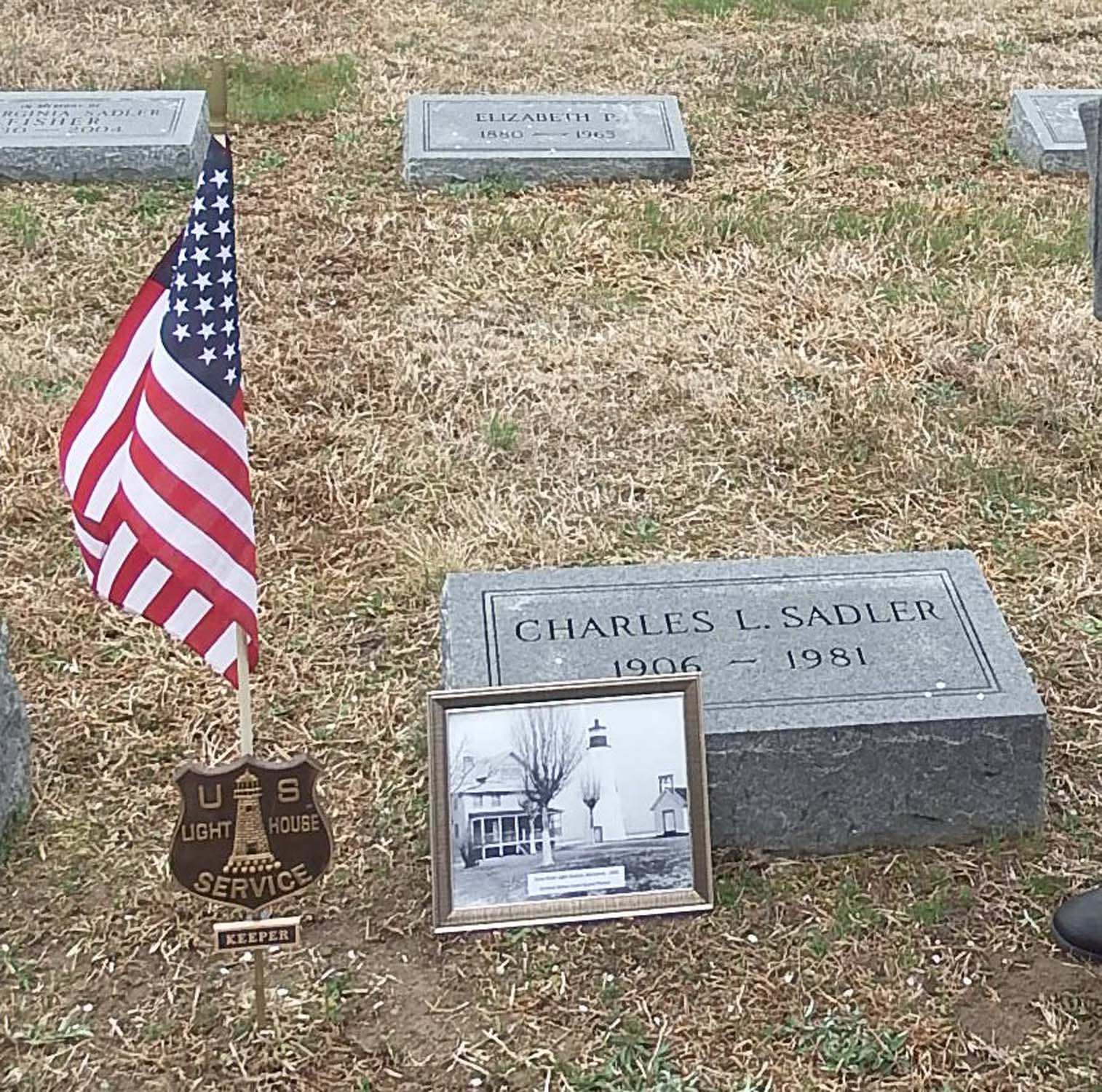 grave markers placed by chesapeake group lighthouse digest